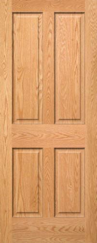 4 Panel Interior Wood Door Oak 4 Panel Doors Homestead Doors
