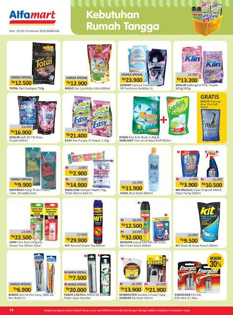 Daftar Parfum Di Alfamart harga promo alfamart 1 15 februari 2016 16 daftarharga biz