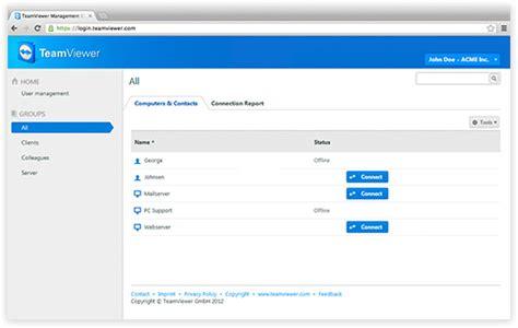 teamviewer console team viewer 8 retina et management console macgeneration