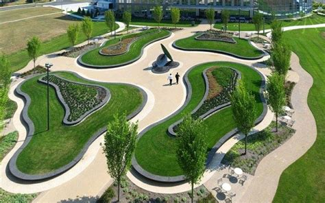 garten gestaltung idee stadtpark usa moderne