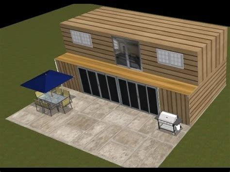 shipping container home design kit download shipping container house design project 2 youtube