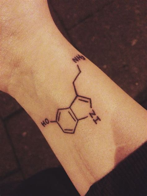 serotonin tattoo 25 best ideas about serotonin on