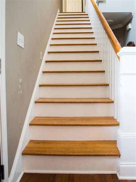 stairs pictures how to step up your stair risers with wallpaper hgtv