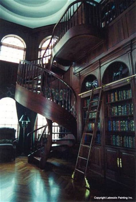 library staircase amazing blue library this is where i live in in mind products pinterest spiral staircases