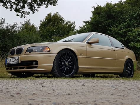 Bmw 3er Coupe E46 by E46 Coupe Gold 3er Bmw E46 Quot Coupe Quot Tuning Fotos
