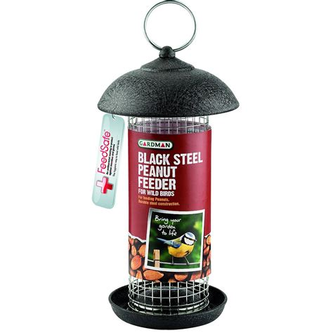 gardman black steel peanut feeder oldrids downtown
