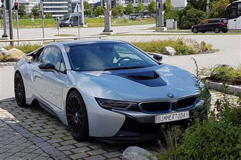 Bmw I8 Performance by Spotted Bmw I8 Prototype With Performance Upgrades