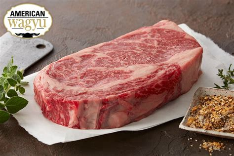 Tokusen Bifuteki Wagyu Steak Rib Eye wagyu ribeye steaks premium beef chicago steak company