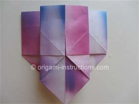 Origami Paper Container - easy origami container folding