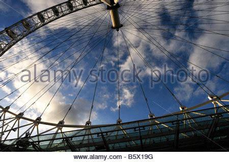 the british airways london eye at night. opened in 1999