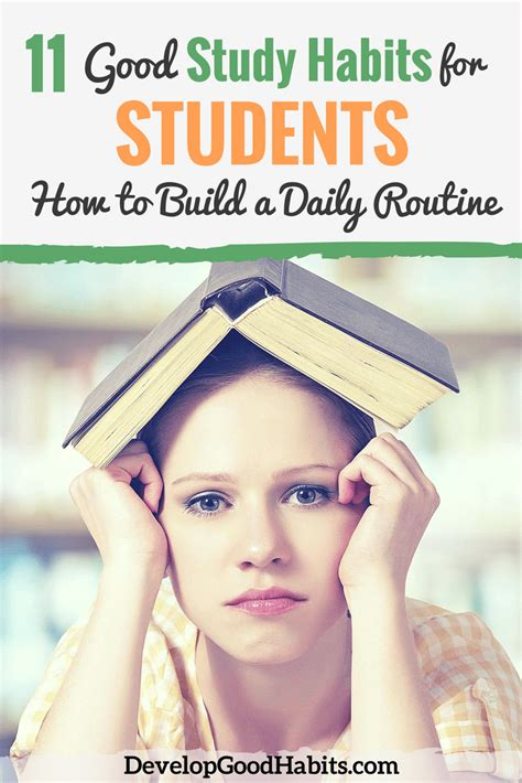 7 Of My Favorite Study Habits And Helpers by 11 Study Habits For Students How To Build A Daily
