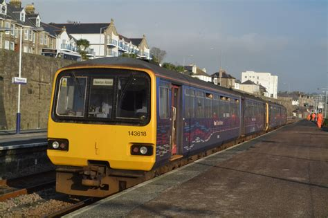 penzance to plymouth times derby 1 class 143 pacers being visitors to