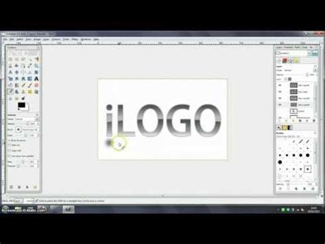 how to design a logo yahoo answers how to create a logo like the ios text one in gimp