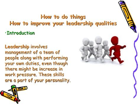 how to develop leadership skills powerpoint presentation how to improve your leadership qualities