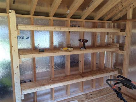 diy storage shelving   shed shed shelving shed