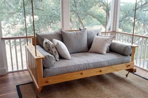 Hanging Sofa Swing 10 sofas you can actually put on your front porch