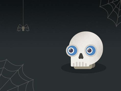 scary animated halloween gifs scared loop gif by sylvia boomer yang find share on giphy