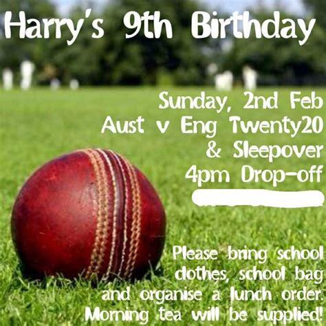 cricket birthday card template 17 best images about cricket on