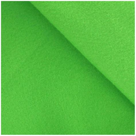 felt fabric lime green x 10cm ma petite mercerie