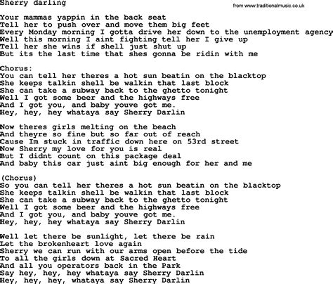 s day lyrics bruce springsteen lyrics bruce springsteen 28 images badlands lyrics