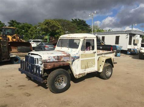 amc jeep truck 1955 willys jeep truck amc 350 motor 4x4 cars