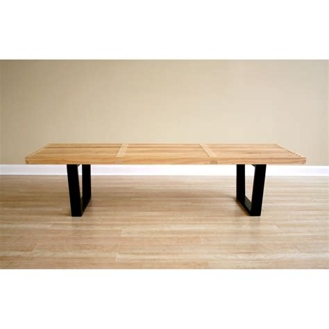 natural bench nelson style wooden bench natural see white