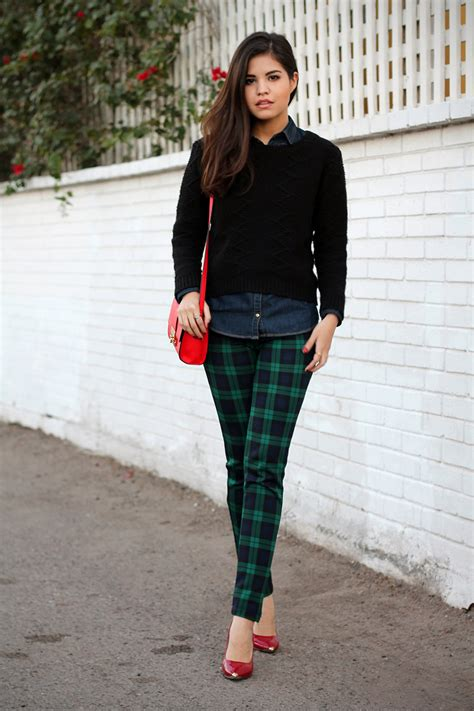 Of The Blogs Silver Plaid And The Wears Prada by Step Leather