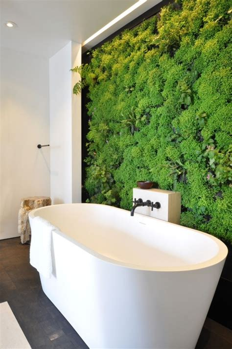 moss in bathroom 5 feature walls to reinvent your room renovator mate