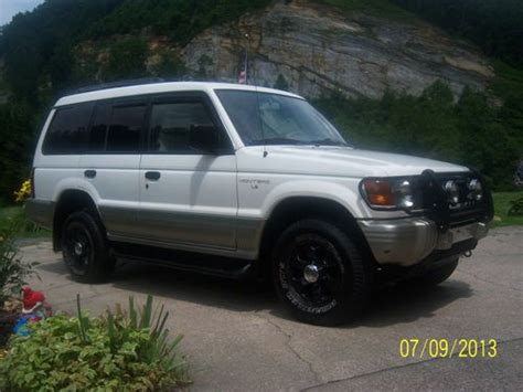 purchase used 1997 mitsubishi montero ls sport utility 4