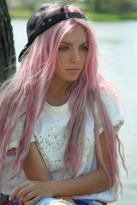 hairstyles color facebook we like hair gt light pink hair pastel pink red