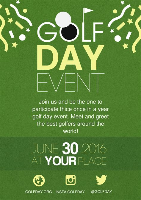 free templates for a5 flyers golf a5 promotional flyer http premadevideos com a5
