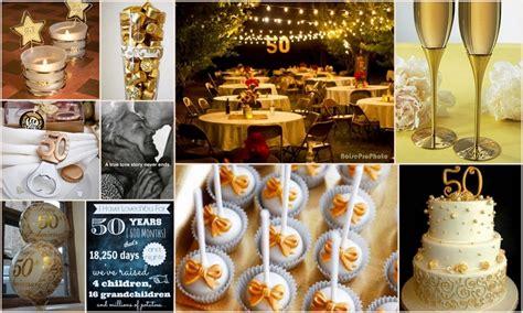 Www 50th Wedding Anniversary Ideas by 50th Wedding Anniversary Decorations Ideas Criolla