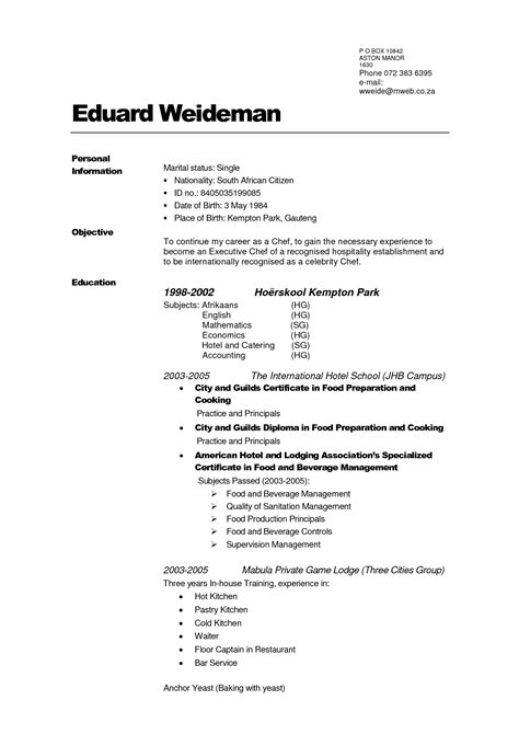 free resume sle pdf how to create your own resume template 28 images