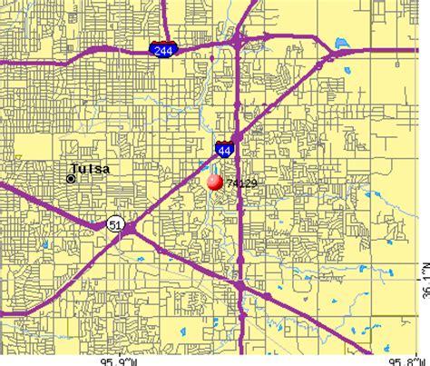 zip code map tulsa 74129 zip code tulsa oklahoma profile homes