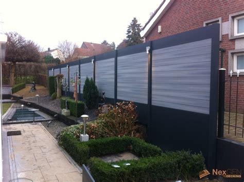 how to make backyard more private decking ideas nexgen decking