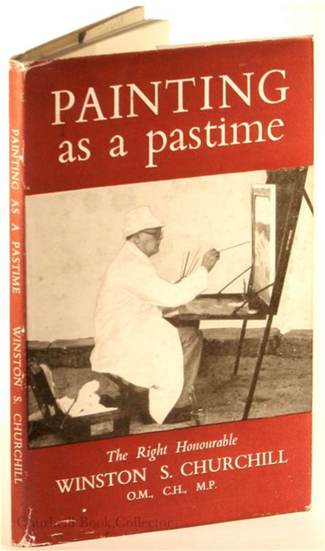 Churchill Essay Painting As A Pastime by Churchill Book Collector