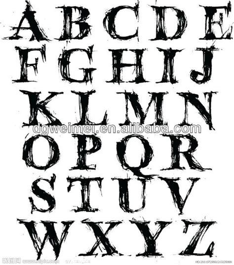 tattoo alphabet transfers temporaneoinglese lettere tatuaggio trasferimento alfabeto