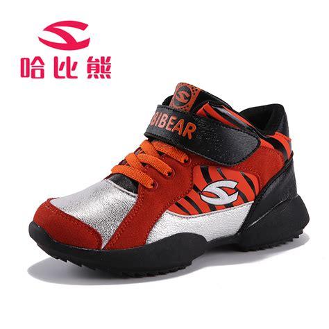 velcro athletic shoes 2015 hobibear nonslip sneaker comfortable boy
