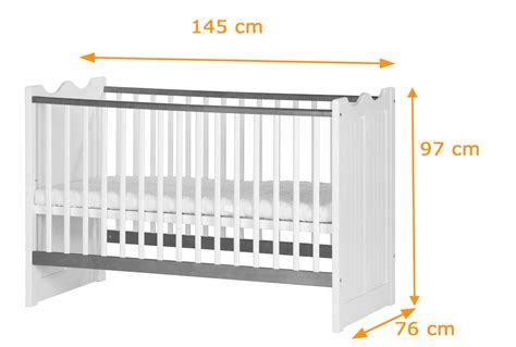 Baby Crib Measurements by Princess Cot Bed To Junior Bed Funique Co Uk