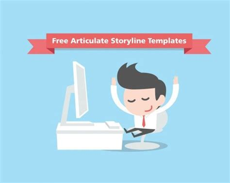 127 Best Articulate Storyline Templates Images On Pinterest E Learning Templates Free