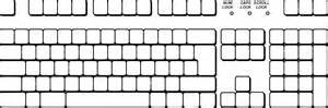 blank keyboard template blank keyboard template printable virallyapp printables