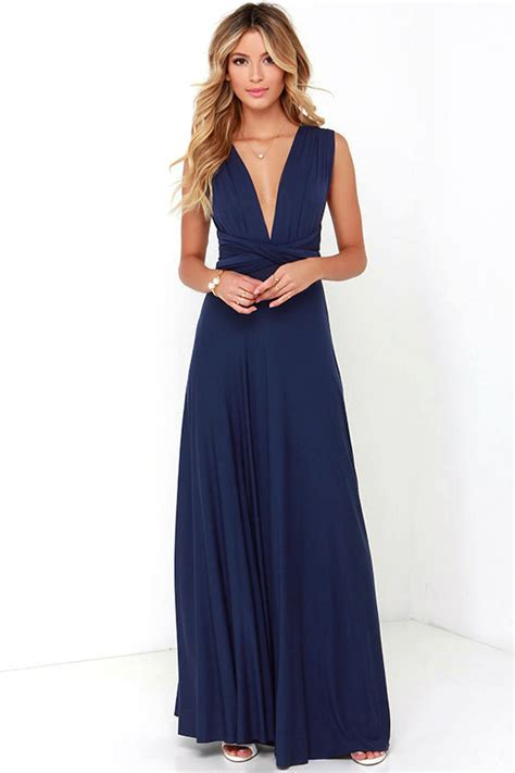 Maxi Blue navy blue maxi dress www pixshark images galleries