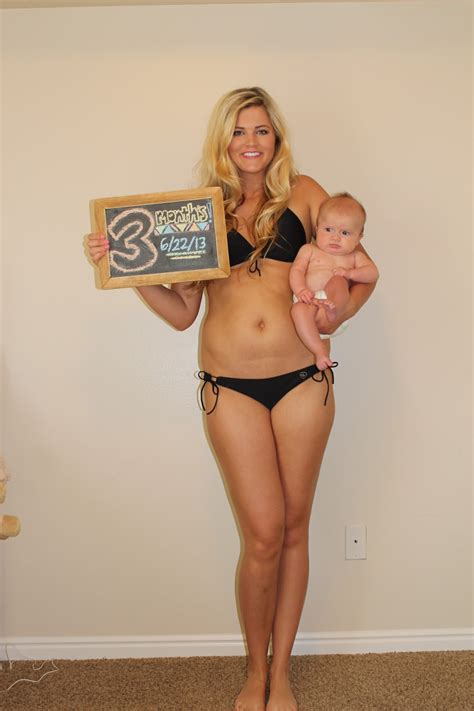 pregnant 5 months after c section 3 month postpartum progress britney munday
