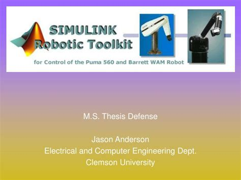 master thesis electrical power engineering ppt m s thesis defense jason electrical and