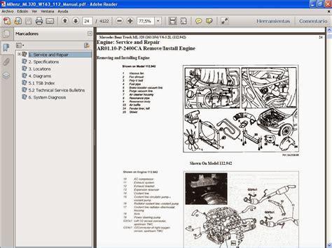 Manuales De Taller De Mercedes Benz Mercedes Benz Ml320