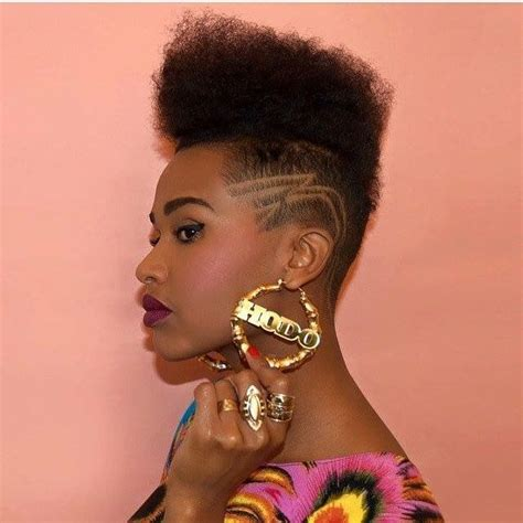 edgy afro hairstyles 43 best shaved styles images on pinterest hair dos