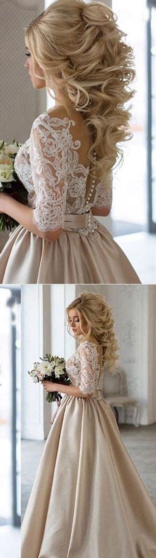 Wedding Hair For Vintage Dress by 25 Best Ideas About Chagne Wedding Dresses On