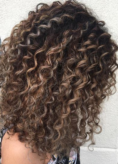 partial highlight pattern curly hair 25 best ideas about highlights curly hair on pinterest