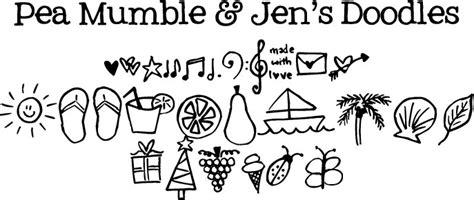 doodle name kevin pea mumble jen s doodles