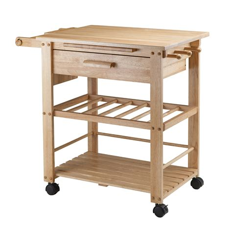 winsome wood 83644 finland kitchen cart lowe s canada